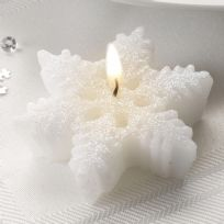 Shimmering Snowflake Candle (3)